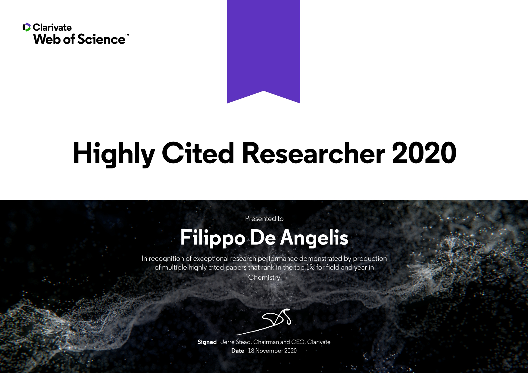 Highly Cited Researcher Award page 0001